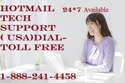 Hotmail Technical Support  Toll Free Phone Number- 1-888-241-4458