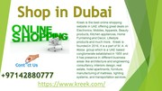 Shop in Dubai
