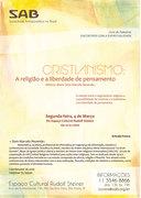 Cristianismo : A Religião e a liberdade de Pensamento