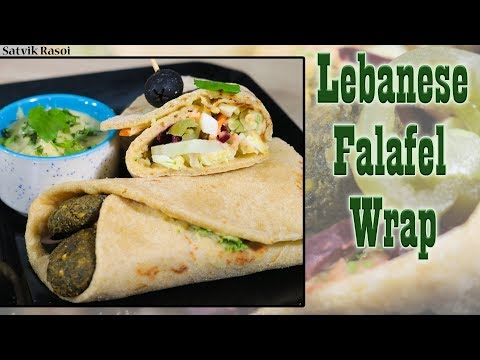Falafel Wrap Recipe: How to Make Falafel Wrap | Quick recipe