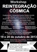Workshop REINTEGRAÇÃO CÓSMICA