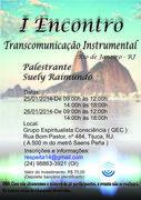 Encontro de Transcomunicação Instrumental no Rio de Janeiro com Suely Raimundo