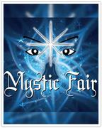 "Stand da Cura com a Luz na ""Mystic Fair"""
