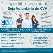 CURSO GRATUITO - Voluntariado CVV
