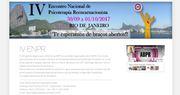 IV Encontro Nacional de Psicoterapia Reencarnacionista - 30/09 a 01/10/17, no Rio de Janeiro