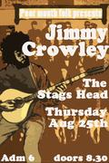 Irish folk legend Jimmy Crowley plays the Poor Mouth Folk Club