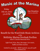 Music at the Marina: A Benefit for the Ward Irish Music Archives