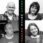 """""""Irish Christmas"""" mit Green White Orange"""