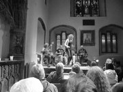 Cormac Cannon and Breda Keville at Tunes in the Church