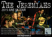 The Jeremiahs June UK Tour
