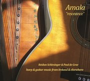 Amala (Reidun Schlesinger, harp & Paul de Grae, guitar) CD launch CORK