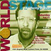 "ANTHONY WILSON Quintet ""Black History Month - Concert Series Closer"" [Tomorrow Nite]"