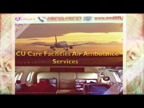 Get Budget-Friendly Air Ambulance Service in Kolkata by Medilift