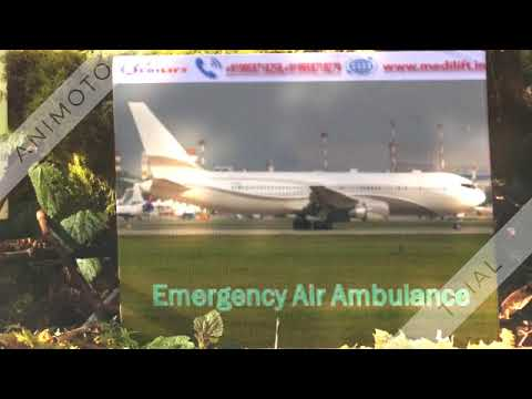 Take Hassle Free Air Ambulance Service in Raigarh by Medilift