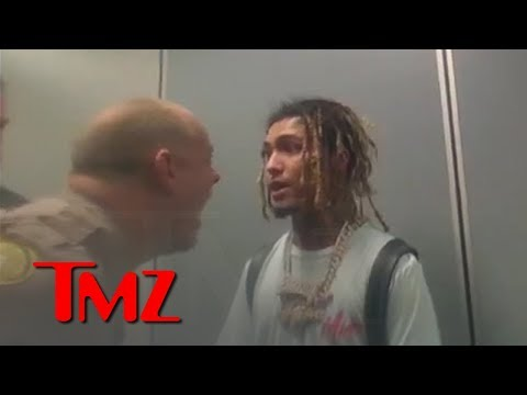 Lil Pump's Shouting Match with Cops