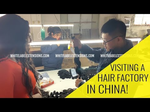 How to FIND a HAIR VENDOR | TOP SECRET footage from our Trip To CHINA | INSIDE A HAIR FACTORY!!!