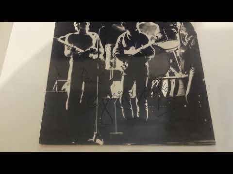 George Harrison's Parents Autographs Louise & Harold Harrison Beatles