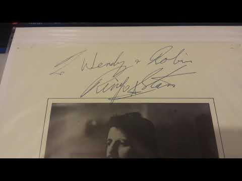 Ringo Starr Full Name Autograph Signed At Tittenhurst Park