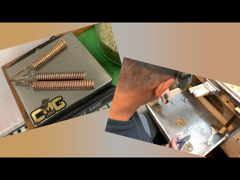 How a Tricolor 18 Karat Solid Gold Cuban Link Chain is Made.