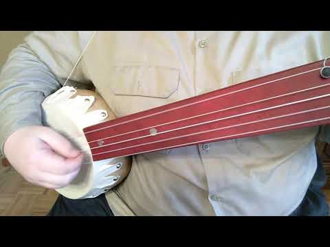 Alabama Joe and Circus Jig on my new 5 string gourd banjo