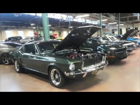 A Walk About A Few Of the 'Stangs At the 2019 Motorama
