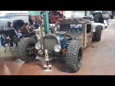 Check Out This Rat Truck At the 2019 Motorama