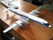 Deutsche Lufthansa IL-18 1:50 scale Die-Cast Model before Restoration