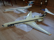 LOT Polish Airlines IL-62M 1:50 scale Die-Cast Model before Restoration