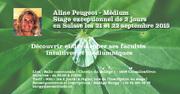 Aline Peugeot, Médium, Découvrir et développer ses facultés intuitives et médiumniques