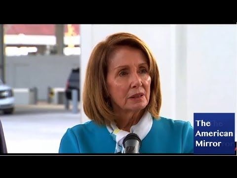Nancy Pelosi border press conference