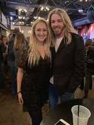 Katlyn Lowe and Bucky Covington