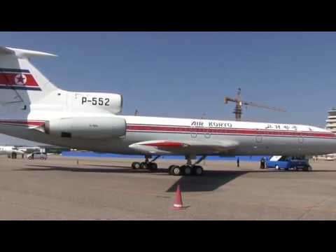 THE SIGHT & THE SOUND 10/12 : Air Koryo TU-154B P-552 inflight documentary from / to Pyongyang