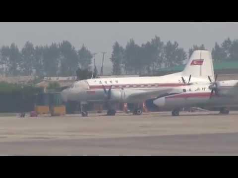 THE SIGHT & THE SOUND 12/12 : Air Koryo TU-204 P-633 inflight documentary from Pyongyang to Beijing