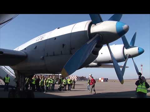 THE SIGHT & THE SOUND 1/6 : Flight onboard Grixona IL-18 ER-ICB from Chisinau to Balti