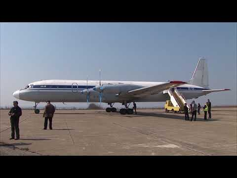 THE SIGHT & THE SOUND 3/6 : Flight onboard Grixona IL-18 ER-ICB from Balti to Chisinau