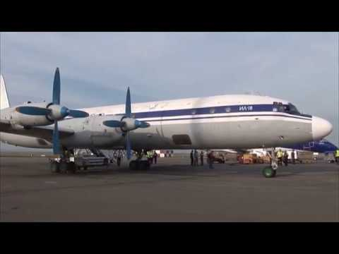 THE SIGHT & THE SOUND 4/6 : Flight onboard Grixona IL-18 ER-ICB from Chisinau to Kiev-Zhuliani