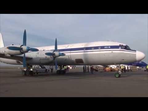 THE SIGHT & THE SOUND 4/6 : Flight onboard Grixona IL-18 ER-ICB from Chisinau to Kiev-Zhuliani