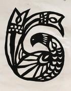 Papercut: Scandinavian Bird Design