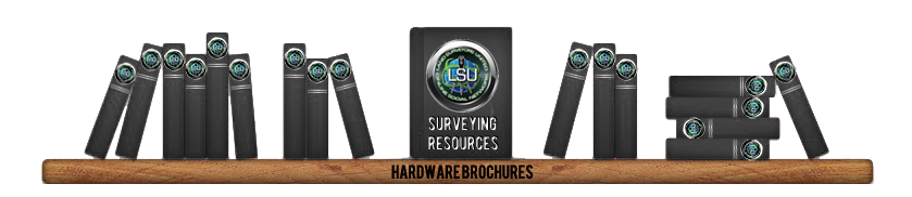 Land surveying equipment Hardware brochures and documents