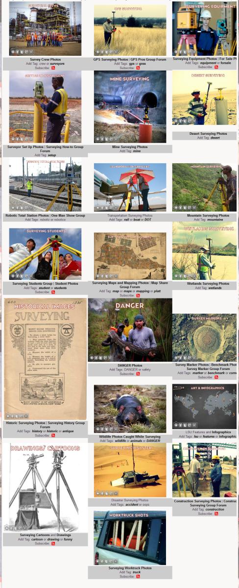 Surveying Photos Categorized