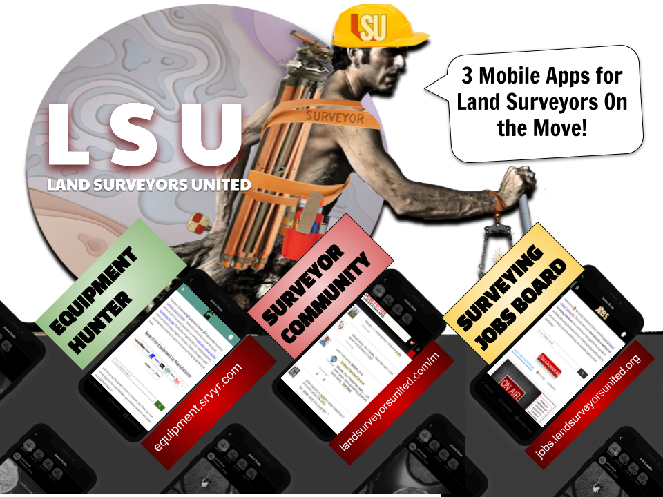 3 Mobile Apps for Land Surveyors