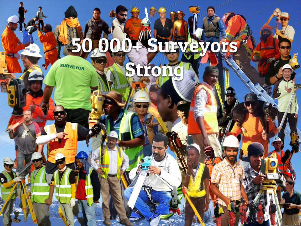 50,000 Land Surveyors