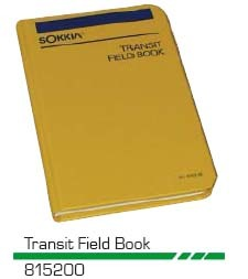 Sokkia Surveyors Transit Field Book