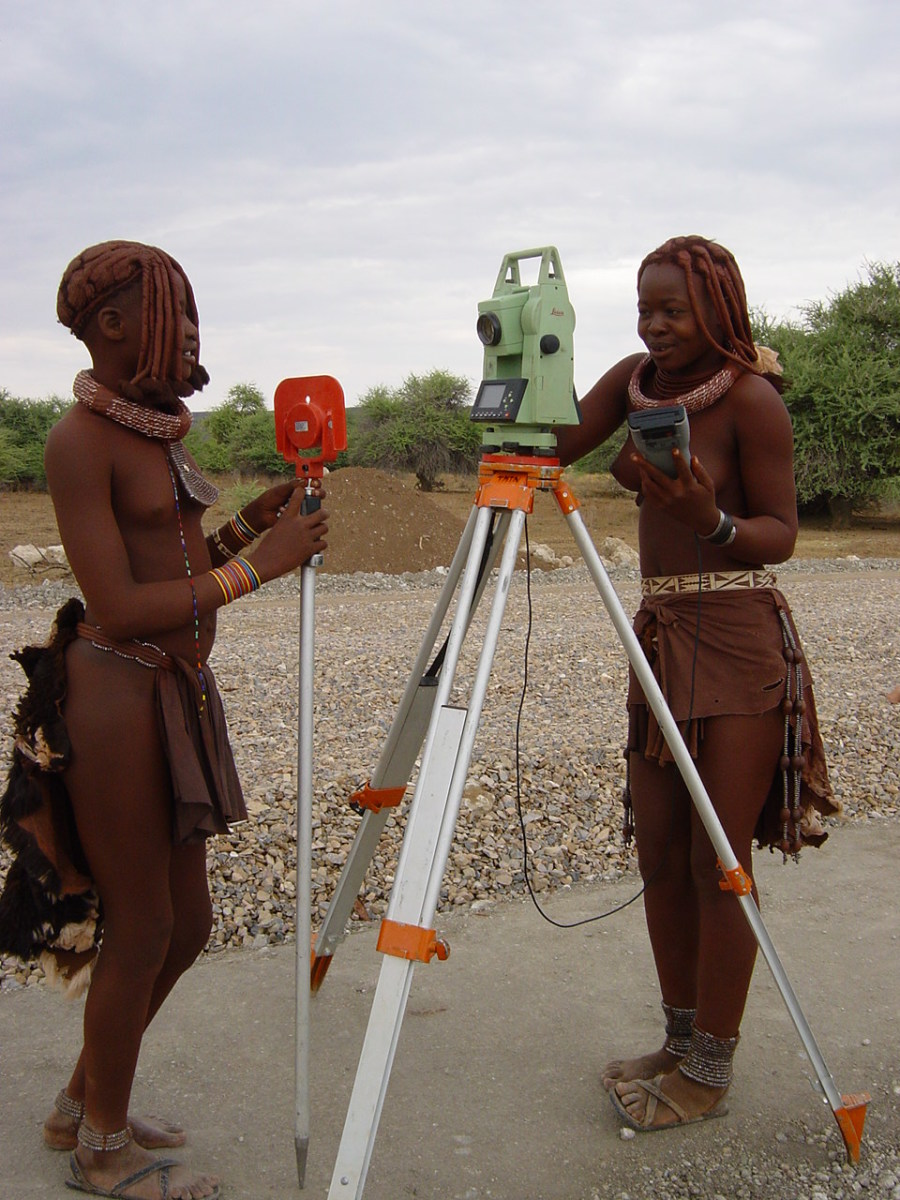 Surveying In Namibia