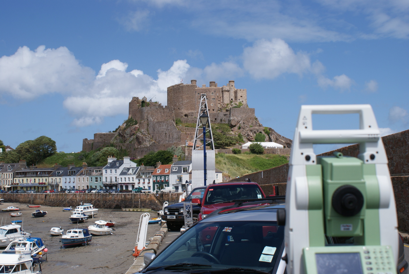 Jersey - 3D Laser Scanning and Control Survey
