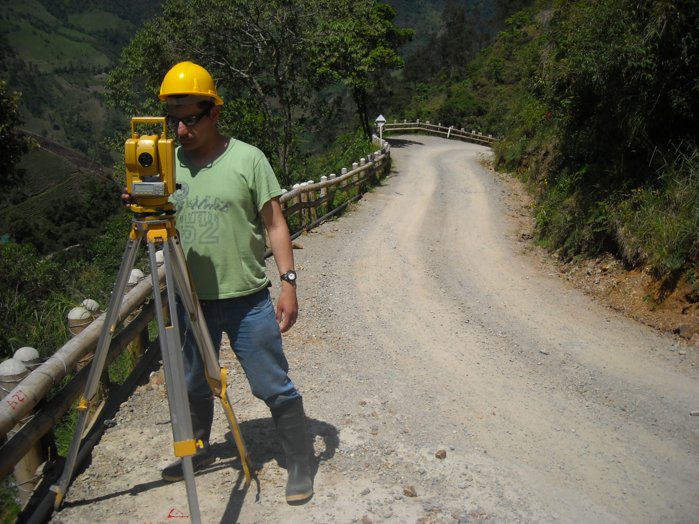 Colombia Surveyor Setup