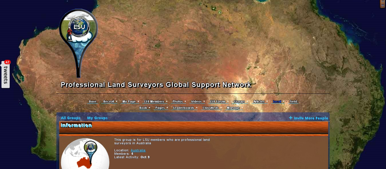Land Surveyors of Australia Group