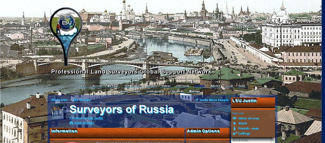 Land Surveyors of Russia Group