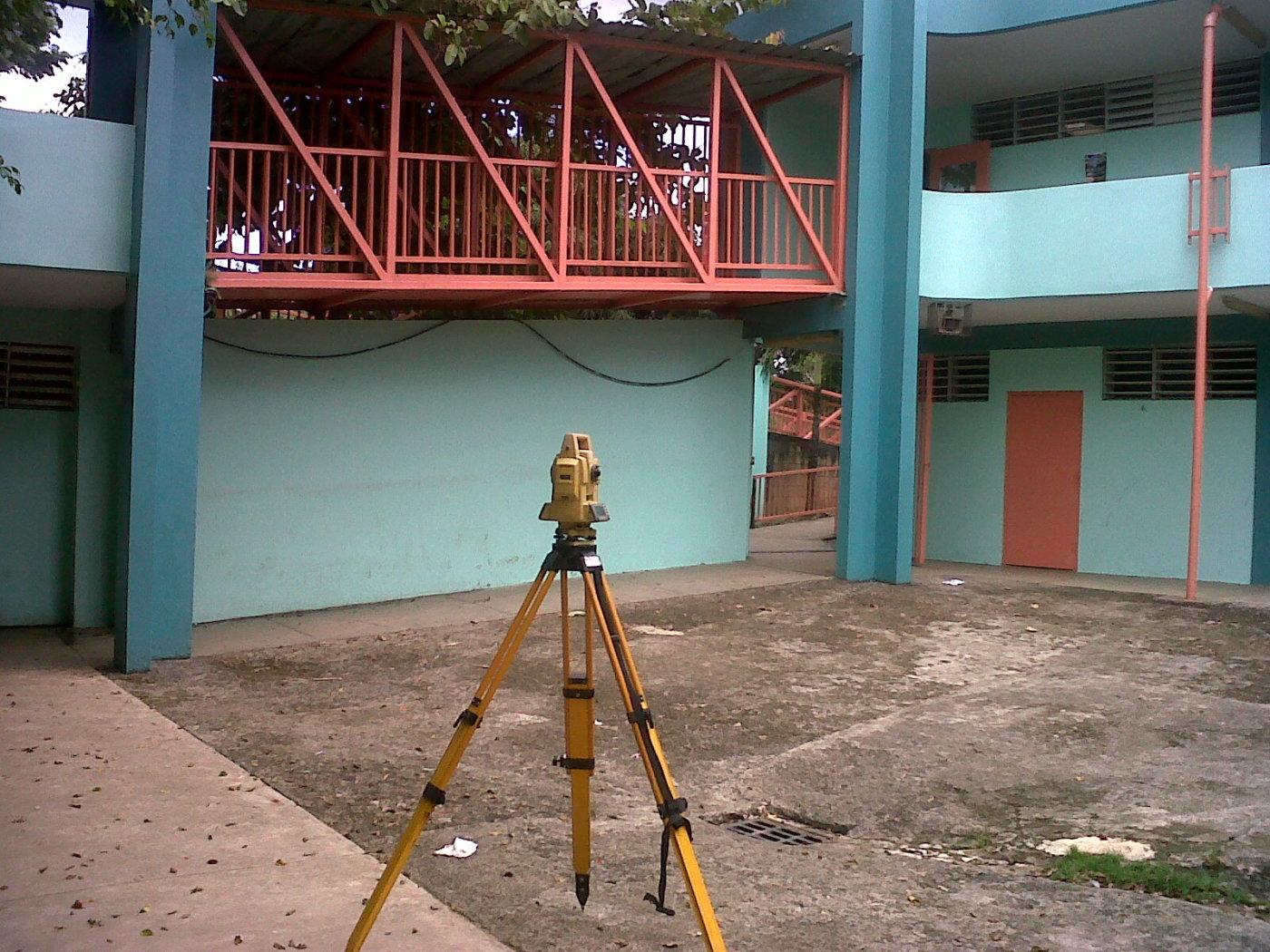 Surveying a school @ caguas PR 2