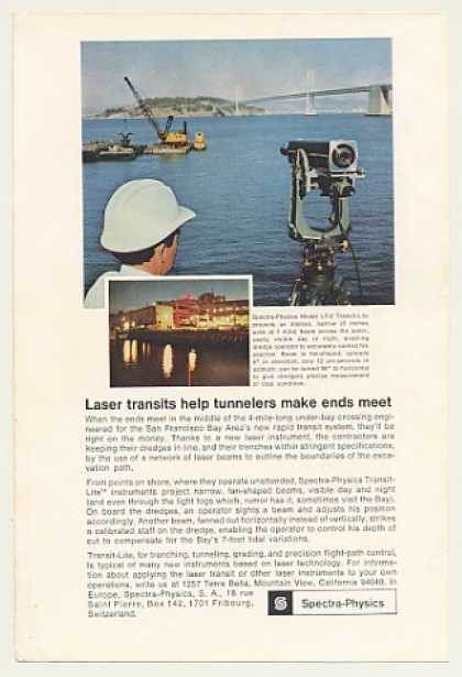 SF Bay Tunnel Spectra-Physics LT-2 Transit-Lite (1966)